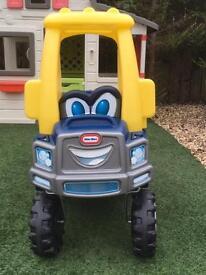 Children's outdoor play car
