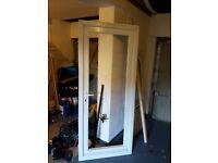 Upvc door really good condition 2 pannels
