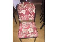 Chairs £5 each 50 available