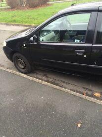 Fiat punto black long mot good runner
