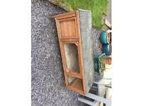 4ft hutch for rabbit or guinea pigs