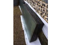 Glass sheets - 82 large sheets - for cold frames or greenhouse - 4mm thick