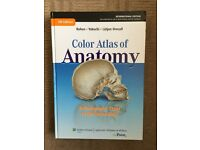 Color Atlas of Anatomy, 7th edition, like new!