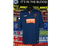 mens blackpool football shirt bnwt 2013 bought from football shop in blackpool size small
