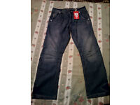 Mens Boot Cut Jeans Brand New 30S Relaxed £15