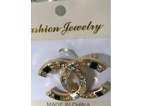 Classical Chanel designer style Brooch