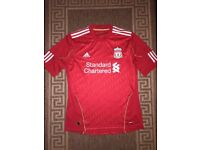 Adidas FC Liverpool Football Home Top T-shirt Size M Red