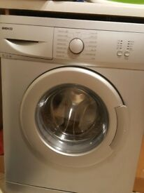 BEKO WASHING MACHINE, AS NEW, IN PERFECT CONDITION. DRYS AS WELL.