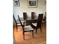 Marble Dining Table and 6 Chairs