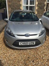 Ford Fiesta Edge 2010 in Silver and immaculate throughout. MOT expires end of December 2018.