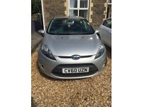 Ford Fiesta Edge 2010 in Silver and imaculate throughout. MOT expires end of December 2018.