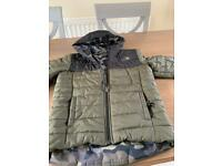 Boys reversible North Face Jacket