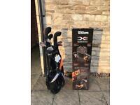 Wilson X31 Mens Golf Package Set Graphite/Steel