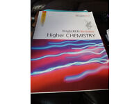 BRIGHT RED REVISION HIGHER CHEMISTRY BOOK