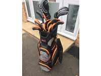 Titleist 716 AP1 irons + Cobra King F6 Driver/ Woods with Bag - Golf Club Set