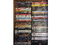 100 + DVDs & some CDs