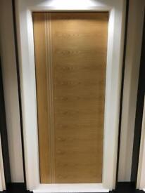 Clearance sale on pre finished oak FD30 fire doors