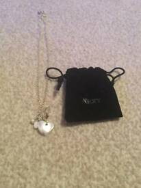 Heart charm necklace From next