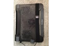 Cooler Master! laptop cooler! Very good condition. Basically Brand new!!