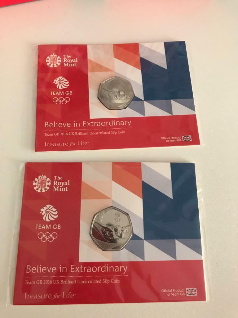 Team GB BU 50p coinsin Costessey, NorfolkGumtree - Team GB BU 50 p coins in original packaging£6 each collection Queens hillPlease see other items for more coins