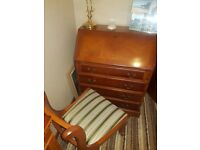 Writing Bureau desk and Chair