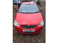 Volkswagen Red Polo 1.2 Sport 2006