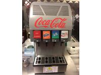 Coke machine as new