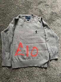 Ralph Lauren/Tommy Hilfiger boys jumpers & Jackets