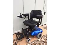 Electric wheelchair (used for 2 months).