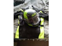 HELMET AND JACKET FOR SALE