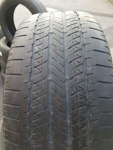 4 PNEUS ÉTÉ - BRIDGESTONE 255.55.18 - SUMMER TIRES