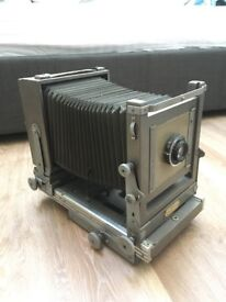 Kodak Model 2 Large Format Film Camera 1950 with Polaroid Back Vintage Antique Collectable