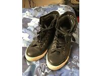 Authentic Men's Converse All Star leather high tops