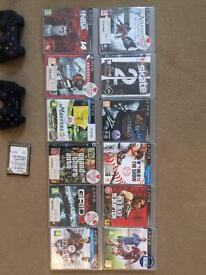 Sony Playstation 3 Console bundle games x12 and two Controller