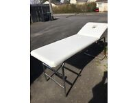 White Massage/Beauty Couch