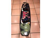 HYDROSLIDE WAKEBOARD, USA made with BOOTS