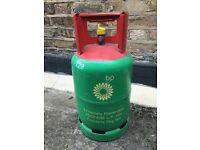 6kg BP gas bottle for patio or barbeque - empty (refill with no deposit)