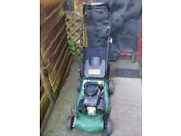 Joblot of 5 petrol mowers for spares or repairs
