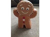 Gingerbread Man Cookie Jar