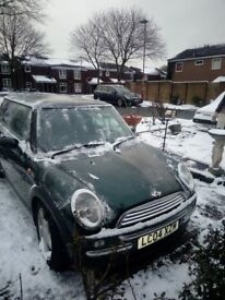 Mini great condition bargain .new exhaust battery and 6 months m.o.t