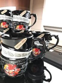 Alice and wonderland mugs