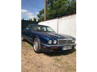 Jaguar x300 xj6 blue 4.0 petrol auto breaking for parts / spares