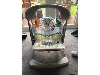 Fisher price baby swing seat