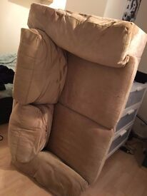 2 seater sofa free to collector