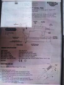 Tacwise Master Nailer 191EL Pro - Electric Brad Nailer/Stapler