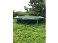 14ft TP Trampoline. £20. Buyer disassembles.