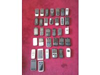 MIXED JOB LOT OFF VARIOUS MOBILE PHONES