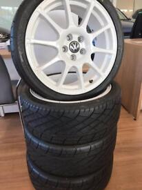 "Volkswagen 17"" alloys"