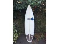 Al Merrick Channel Islands Fred Rubble Surfboard 5'10 25.7L Good condition US made!