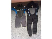 2 Kids Wetsuits - Age 5-6